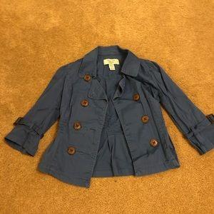 American Rag 3/4 sleeves blue jacket